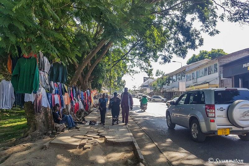Arusha, Sokoine Road, myyjä