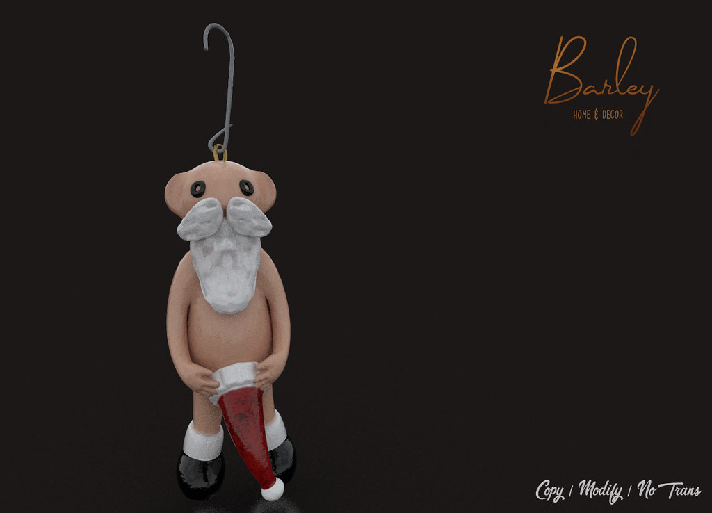 Barley: Naughty Santa @FaMESHed X