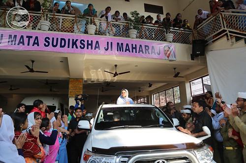 Loving farewell from Aligarh Sant Nirankari Satsang Bhawan