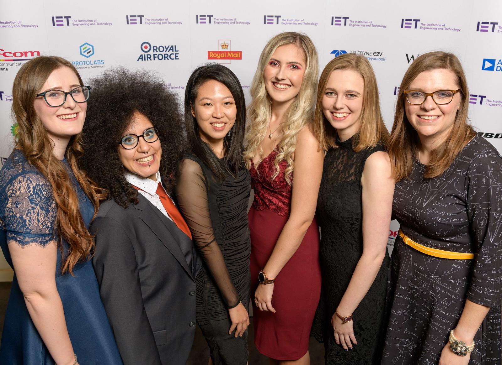 Women IET winners