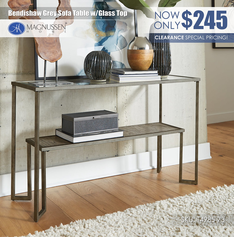 Bendishaw Gray Sofa Table_T4985-73