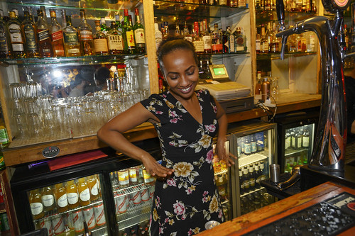 DSC_0852 Troy Bar Reggae Thursday Hoxton Street Shoreditch London with Beautiful Somali Kay Service with a Smile a Wonderful Bartender. Thanks for great service most appreciated | by photographer695