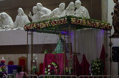 Virgen del Cisne - resting at Catamayo during the pilgrimage.