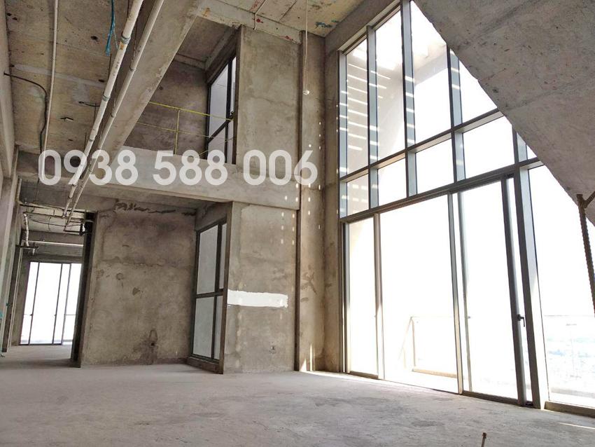 Ảnh thực tế bên trong căn hộ penthouse Millennium quận 4 - Masteri.