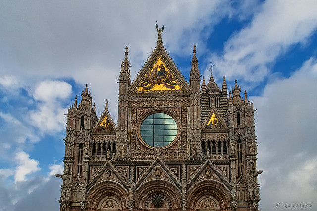 Duomo di Siena (Parte superiore) - Siena Cathedral (upper part)