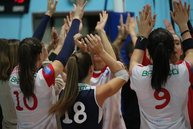 Serie C 7 Dicembre 2019 Bracco Pro Patria Volley  - Net Volley Cinisello 3 - 1