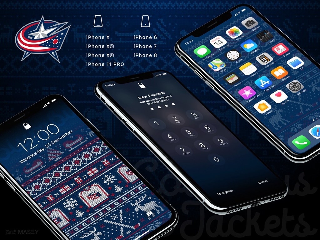 Christmas Ugly Sweater Nhl Iphone Wallpapers