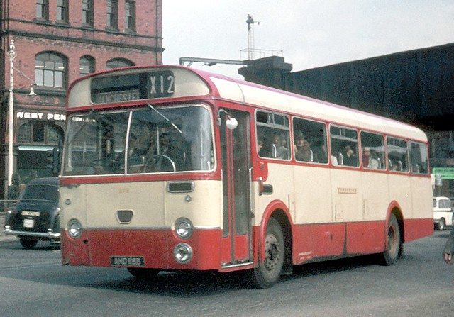 Yorkshire Woollen District Transport Ltd . 272 AHD118B . Oldham , Lancashire . Monday 01st-September-1969 .