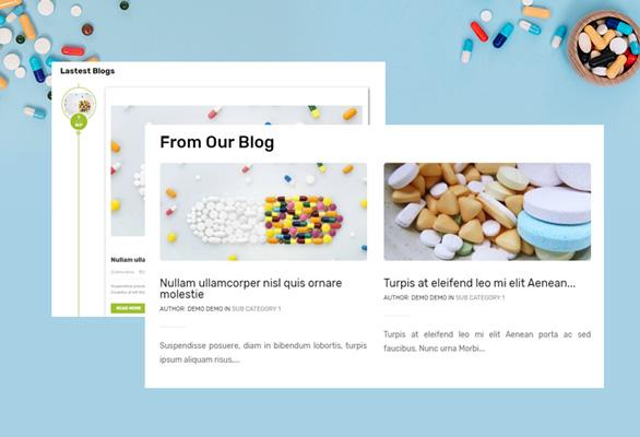 Bos Medicor PrestaShop Pharmacy Template - Engage More Visitor & Traffics Via Blogs