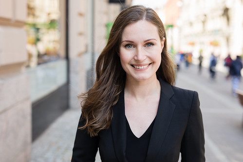 Prime Minister Sanna Marin | by FinnishGovernment