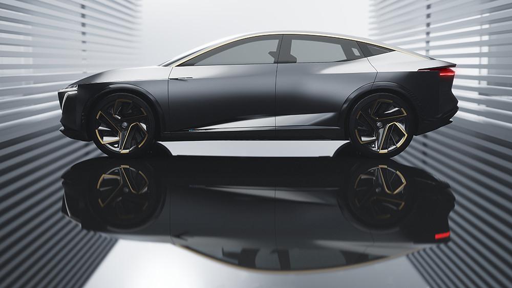 Embargoed until 14 Jan 2019 at 1040am EST – Nissan IMs Concept – Exterior Photo 04-source