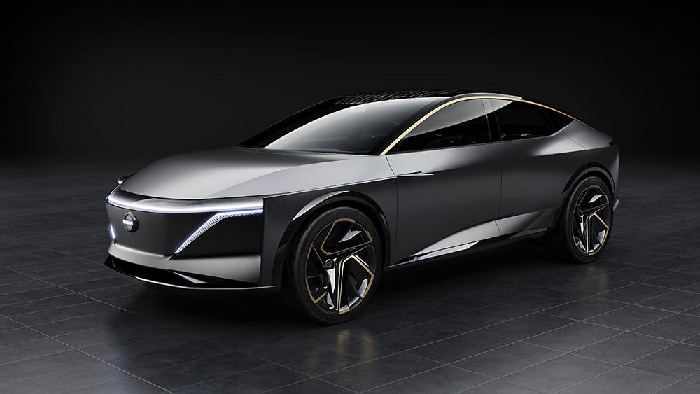 Embargoed until 14 Jan 2019 at 1040am EST – Nissan IMs Concept – Exterior Photo 01-source