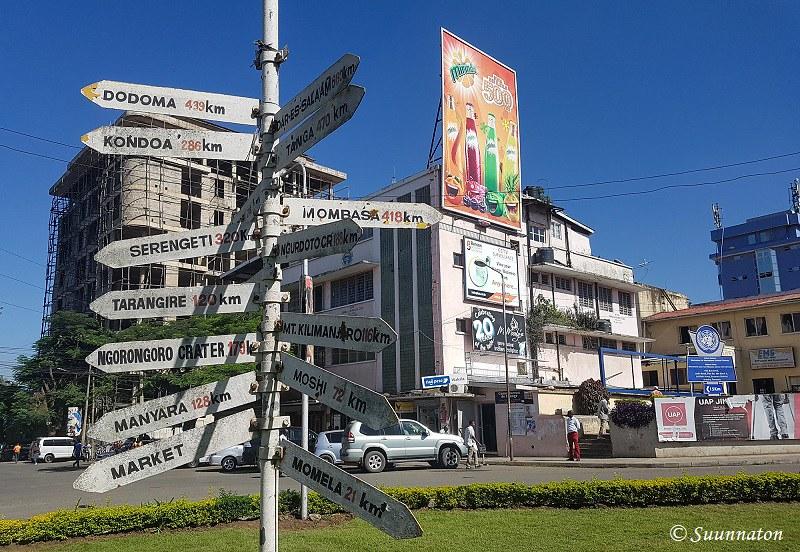 Arusha, viitat