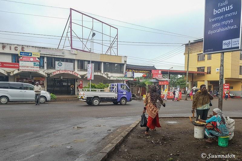 Arusha, maissinmyyjä