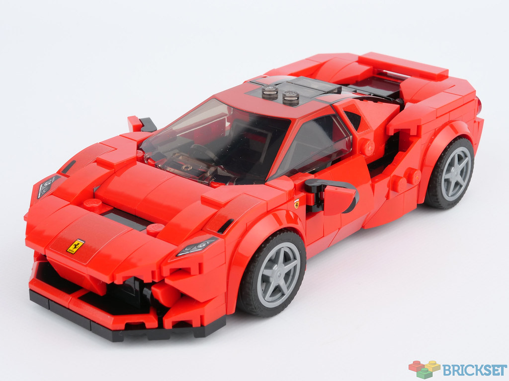 Review 76895 Ferrari F8 Tributo Brickset Lego Set Guide And Database