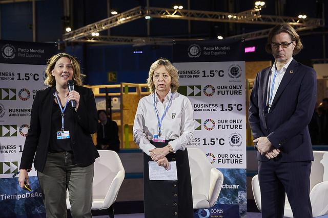 COP 25 Madrid. Business Ambition 1,5ºC