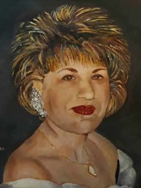 פרידה פירו Frida piro הציירת האמנית הישראלית העכשווית המודרנית הריאליסטית הירושלמית ציירות הציירות ציורי דיוקן עצמי דיוקנאות
