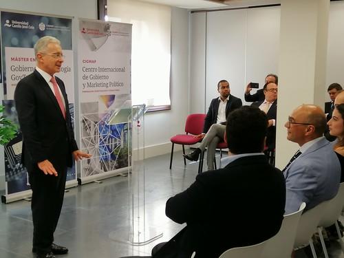 Álvaro Uribe en Clausura Simulación de Campaña CIGMAP 2019 7
