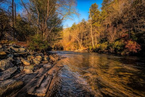 georgia ga usa northgeorgia mountains river water waterscape landscape nature trees rocks ellijay