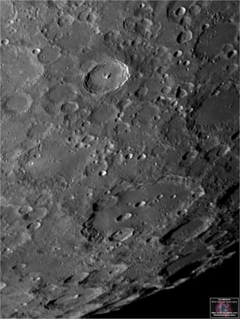 Tycho and Clavius Craters – December 7, 2019