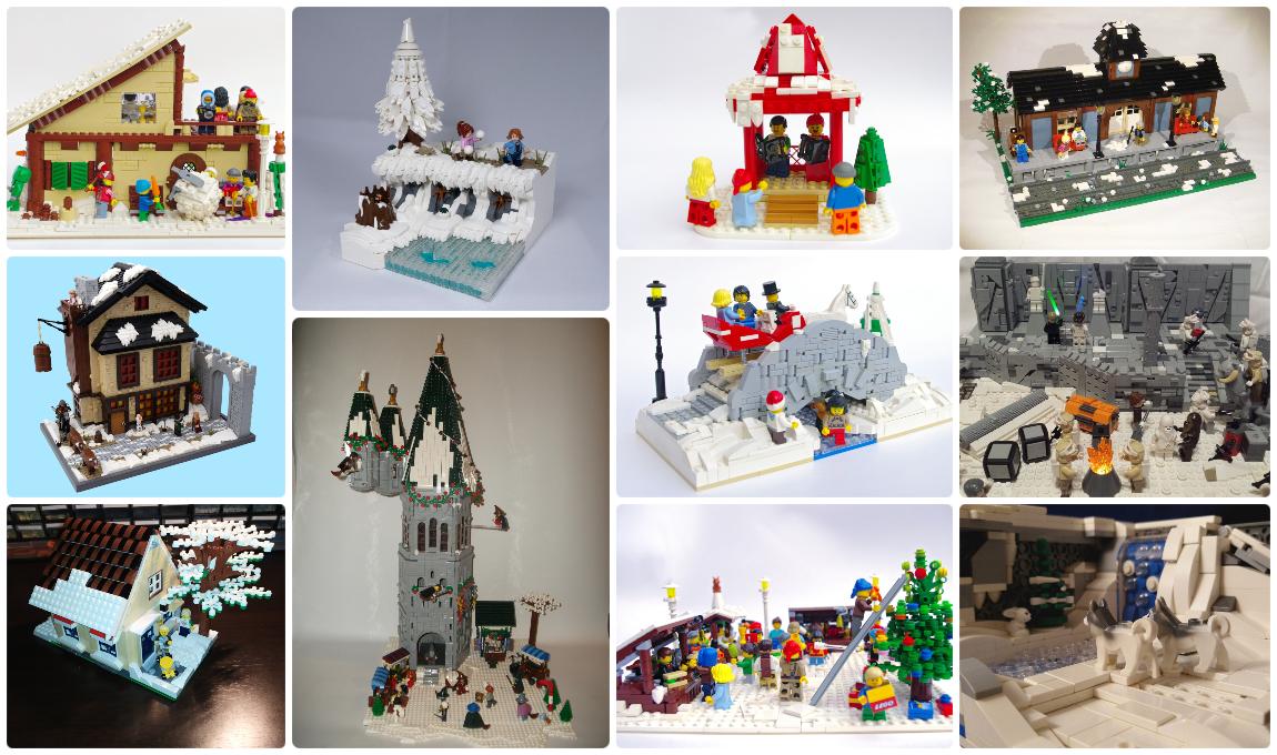 Concurs Winter Brickland – Clasament creatii