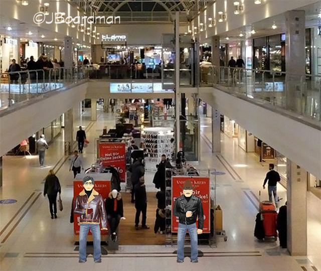 Keller & Simpson walked the mall