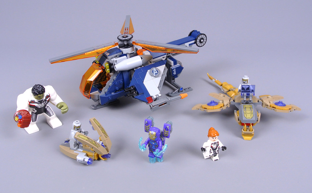 LEGO Marvel Super Heroes 76144 Avengers Hulk Helicopter Rescue review