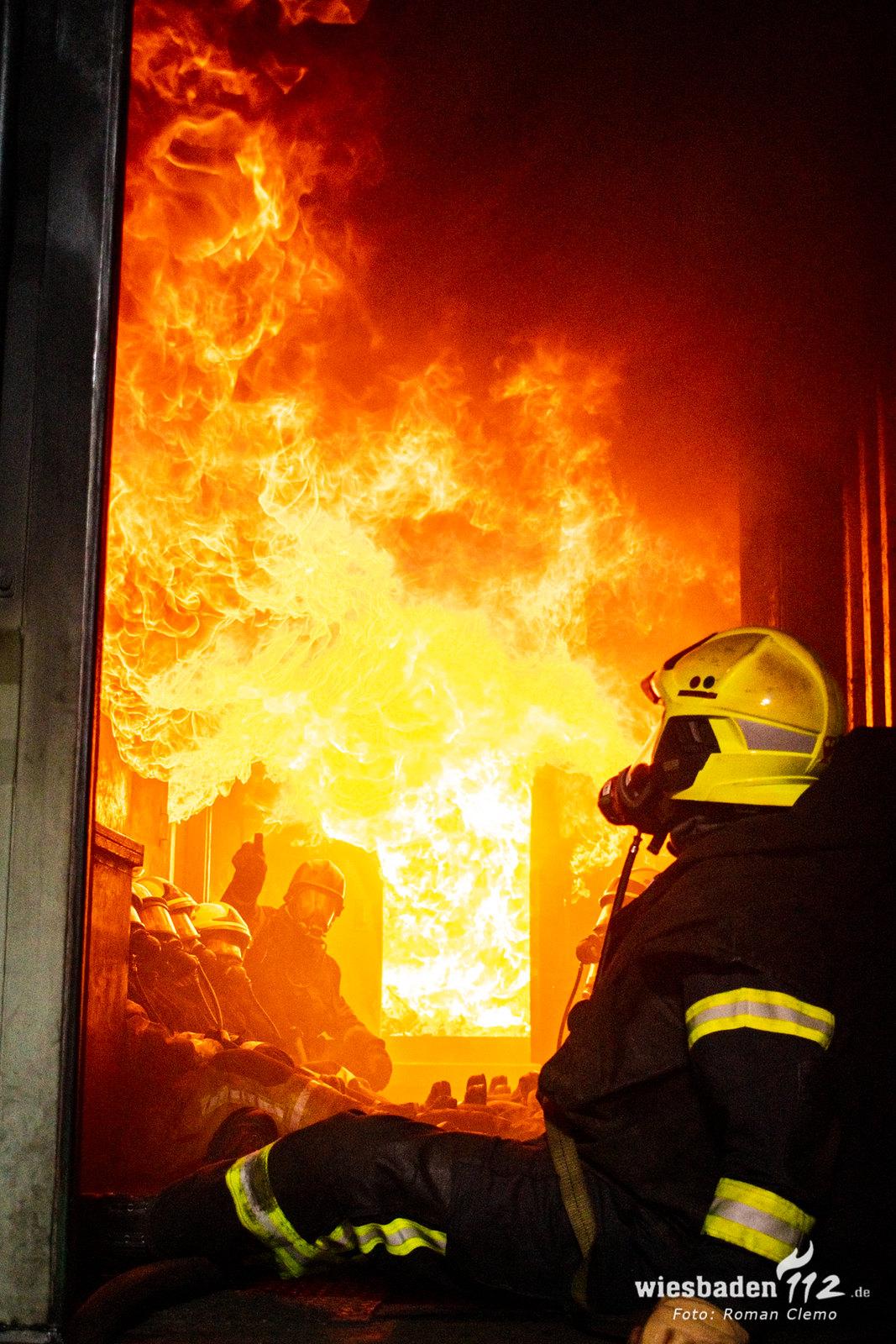 2019-07-12 Usingen Heißbrandausbildung