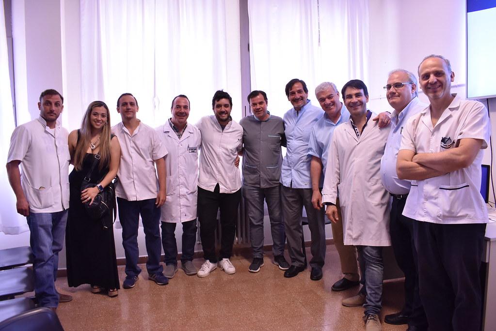 2019-12-10 MARCIAL QUIROGA: Ginecólogos sanjuaninos, habilitados para realizar histerectomías laparoscópicas