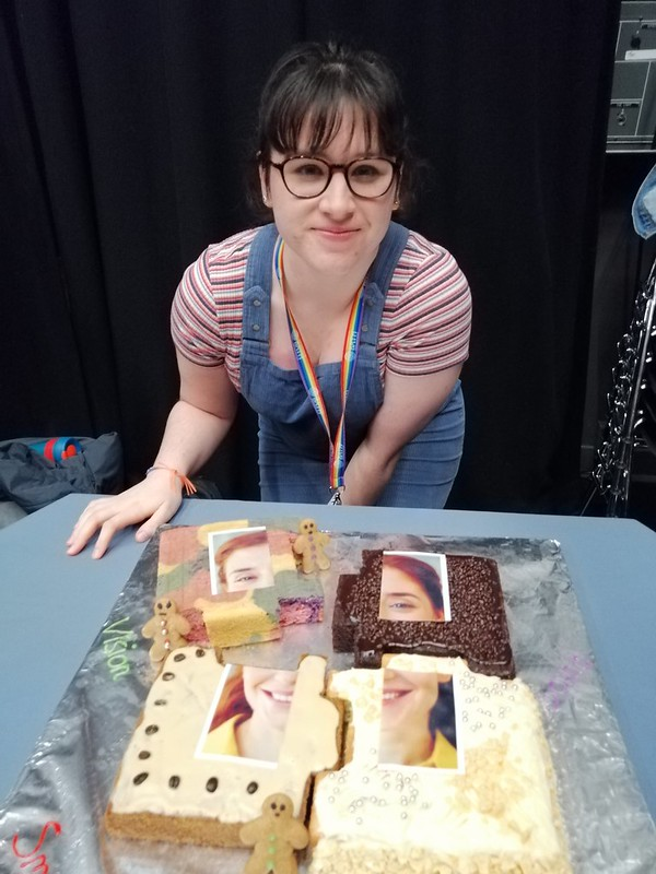 Naomi Heffer, winner of Bake Your Doctorate 2019