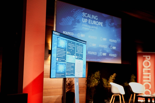 """POLITICO Event """"Scaling up Europe"""""""