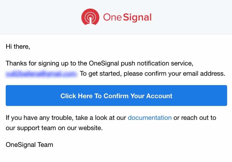 Onesignalメール