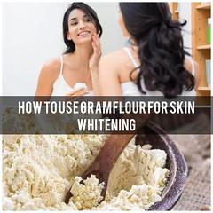 Gram Flour Face Pack For Skin Whitening