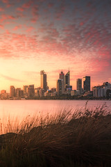 Perth City from Heirsson Island