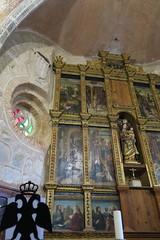Iglesia de Santa María del Mercado - Lateral del retablo mayor 2