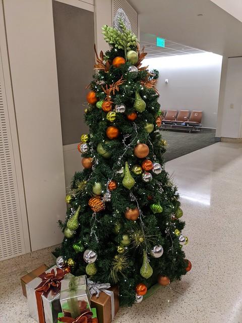 December 10: Airport Christmas Tree