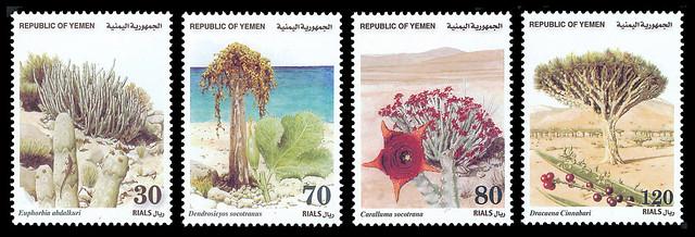 Yemen (2000, Socotra Succulents)
