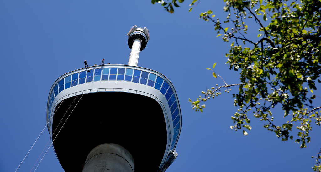 Eurovision 2020 The Netherlands: what to do in Rotterdam? Euromast (photo by Iris van den Broek) | Your Dutch Guide