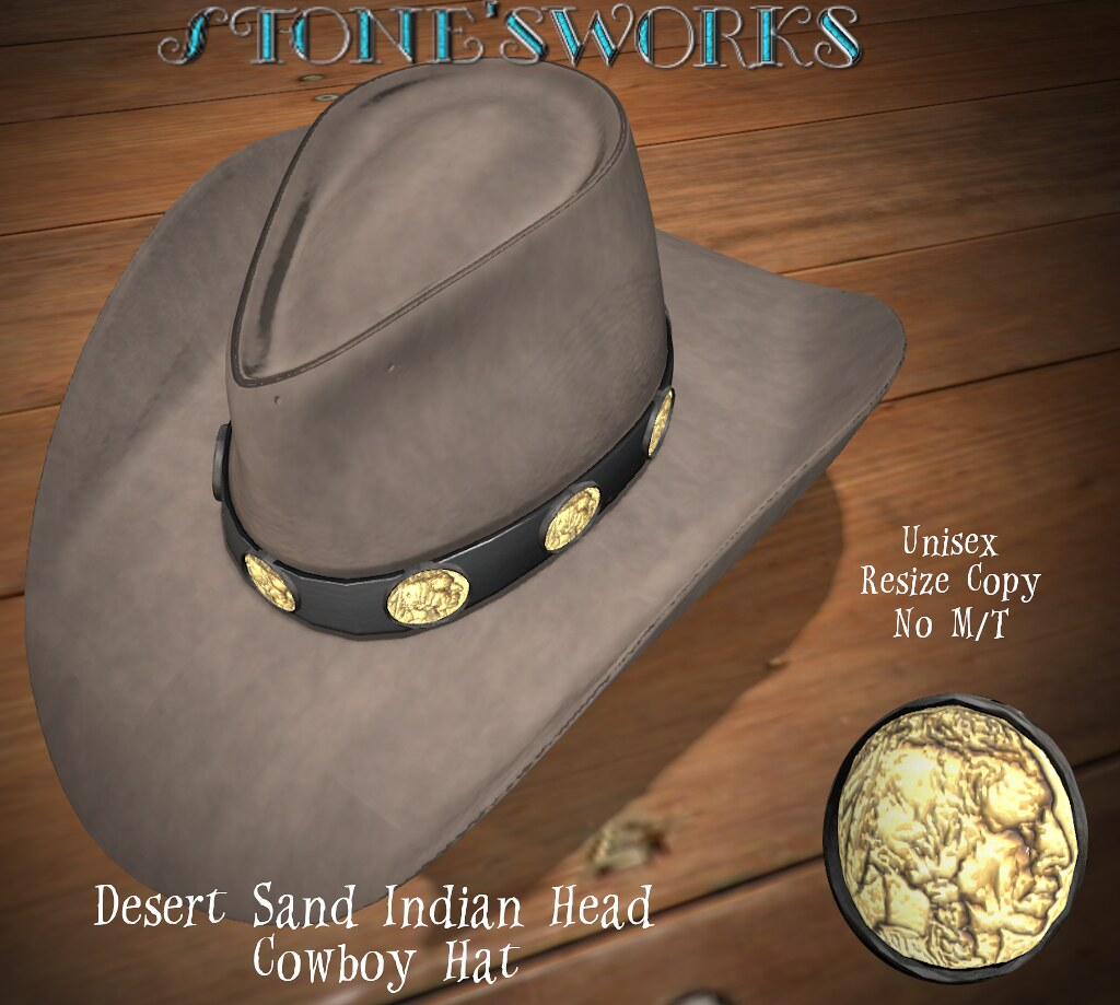 Desert Sand Head CB Hat  Stone's Works