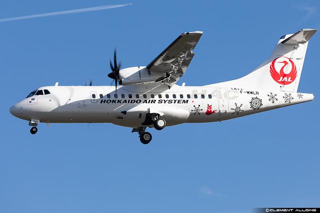 Hokkaido Air System ATR42-600 cn 1417 F-WWLR // JA11HC