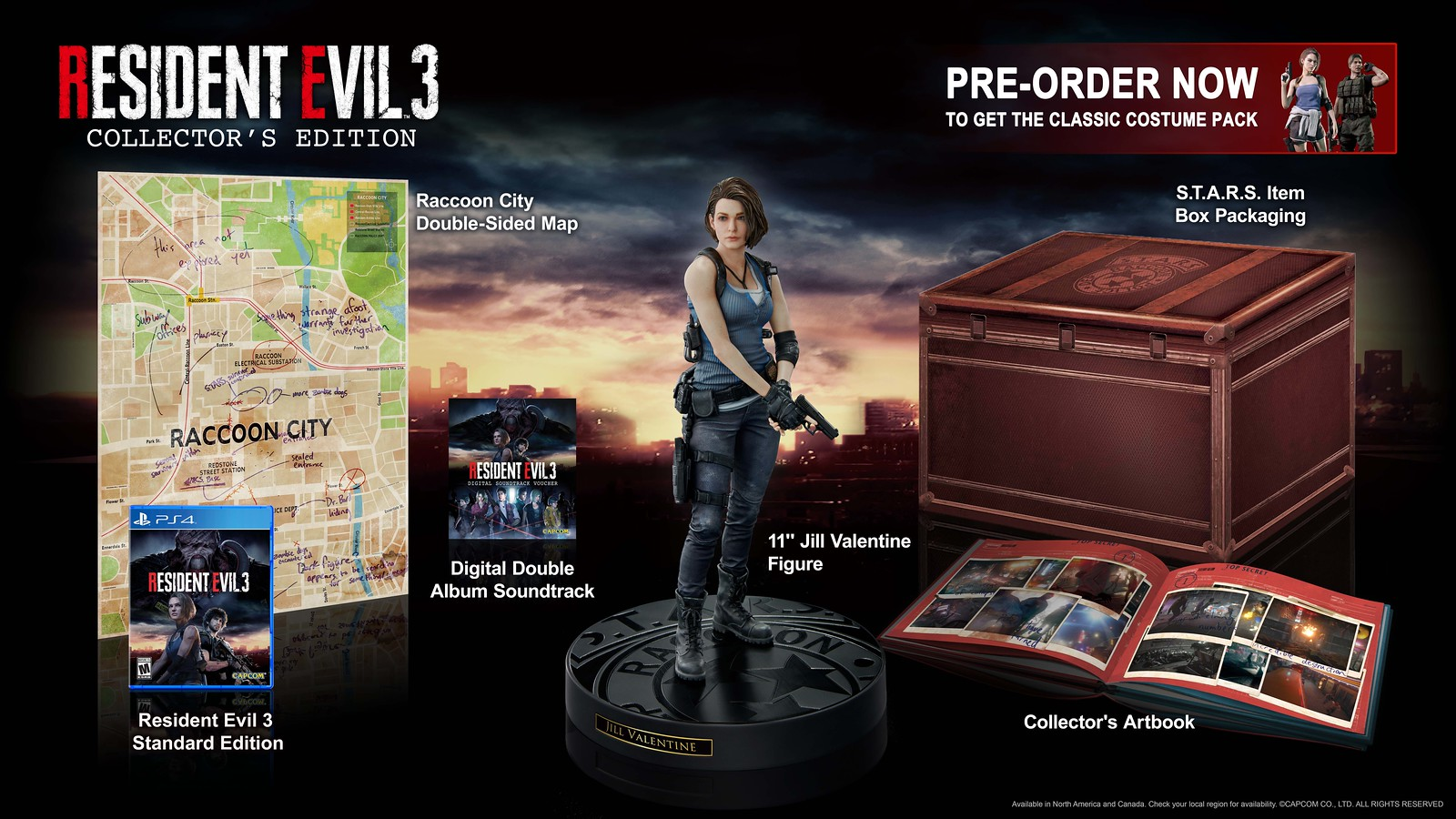 Resident Evil 3 - Collector's Edition