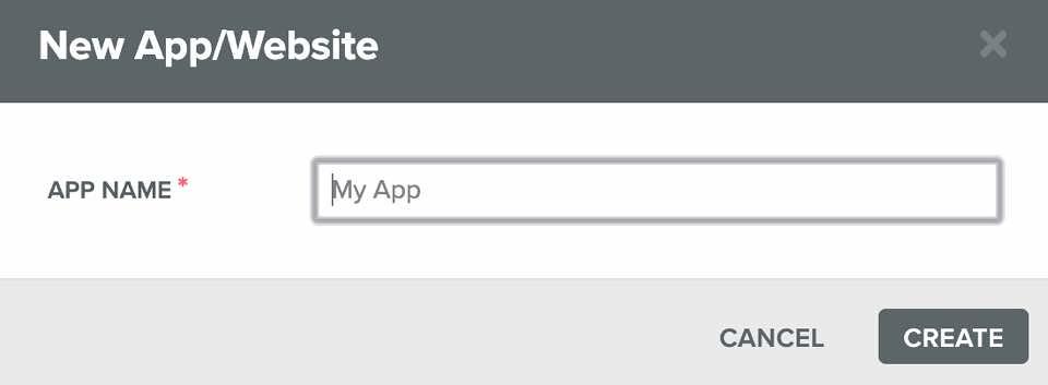 2onesignal websiteの登録