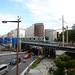 JR Yokohama Line E233 Series Train on Bridge over Route 1: 2