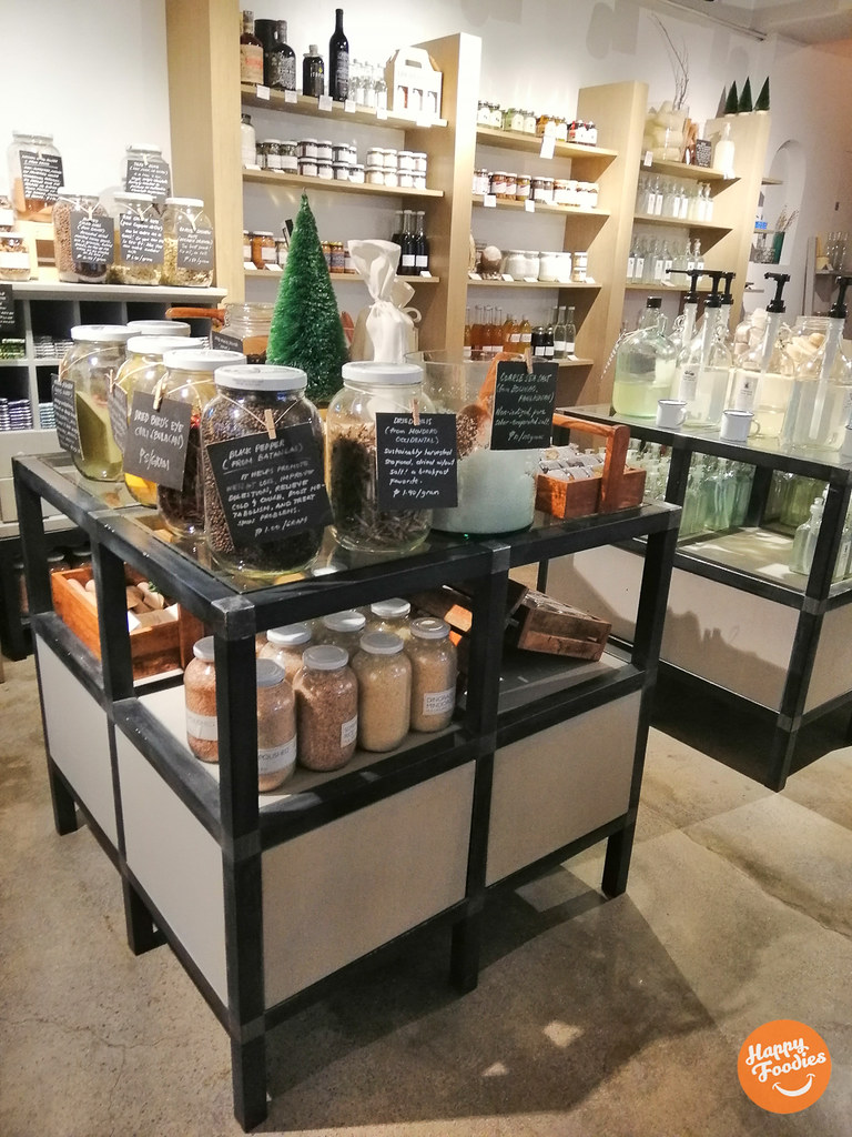 Ritual product shelves and display
