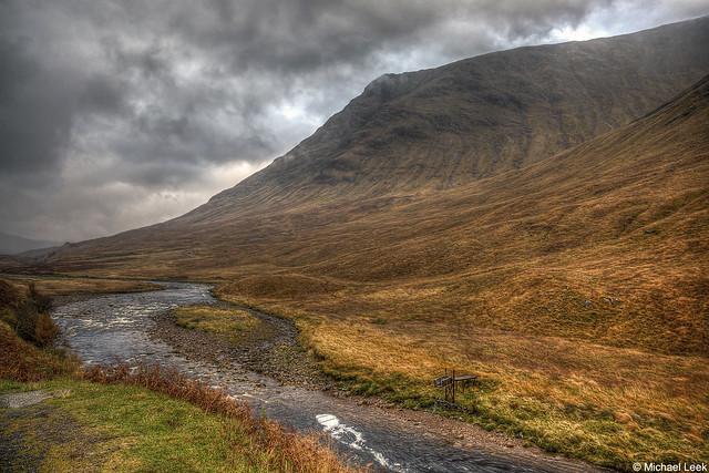 Glen Etive; Rannoch Moor, The Highlands, Scotland