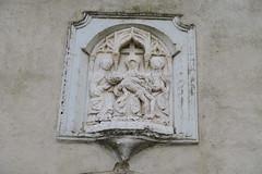 Iglesia de Santa María del Mercado - Relieve en la portada