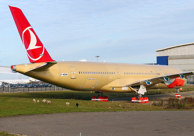 F-WZGN Airbus A350 Turkish Airlines