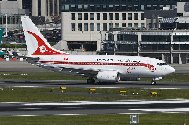 TS-IOP Boeing B737-6H3 EBBR 14-05-19