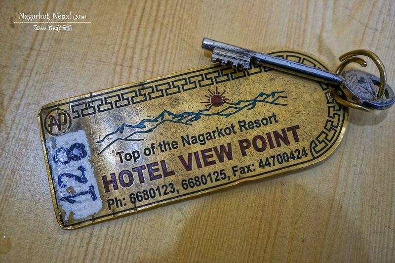 2014 Nepal Nagarkot Hotel View Point