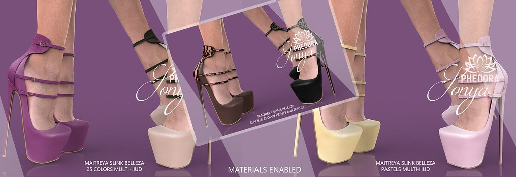 "Phedora for Fameshed X ~ ""Sonya"" Heels + GIVEAWAY!!!"